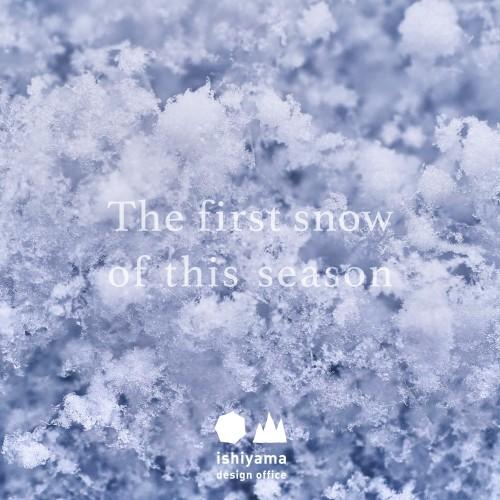 11月 The first snow of this season