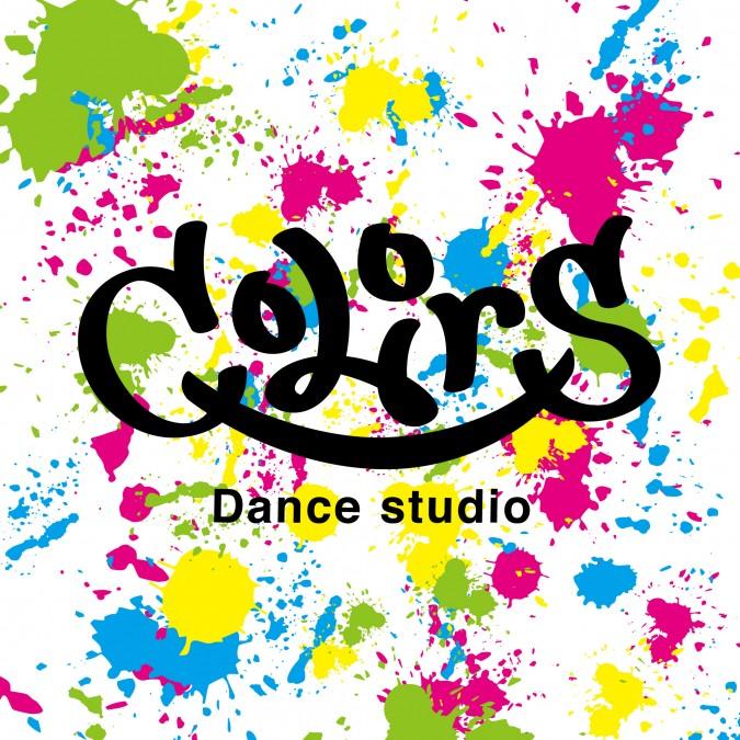 Dance studio colors ロゴ・ポスター・ショップカード